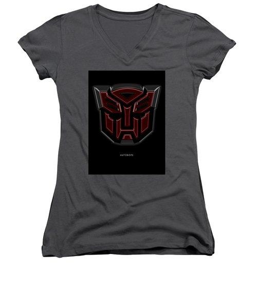 Autobots Women's V-Neck