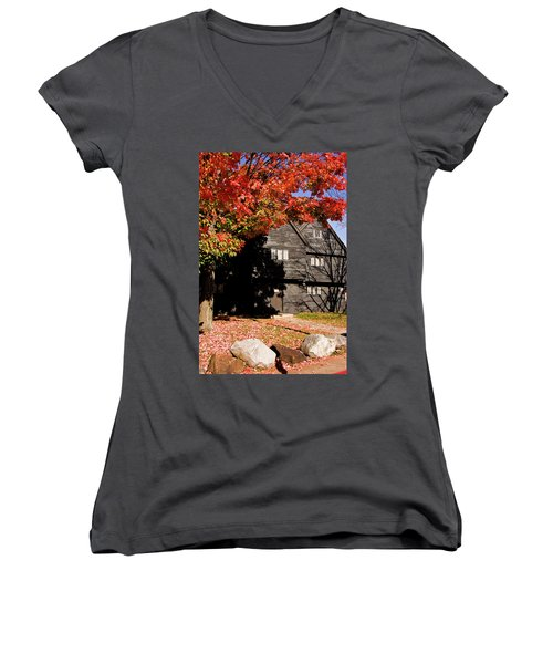 Autumn In Salem Women's V-Neck