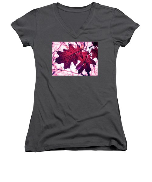 Autum's Ending Women's V-Neck
