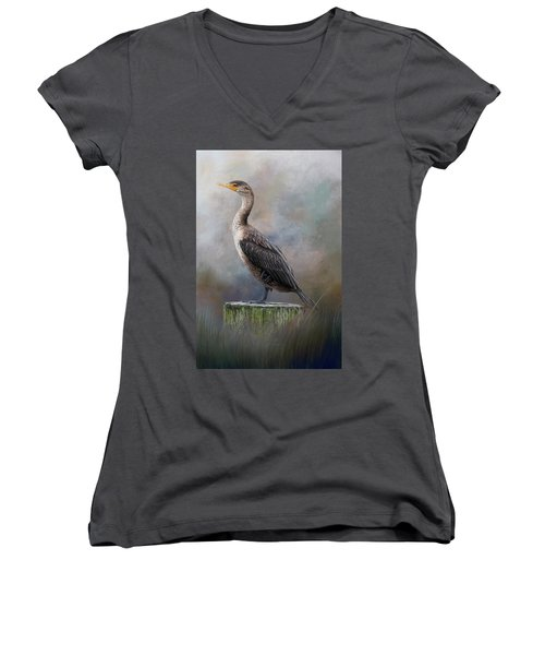 Balancing Act Women's V-Neck