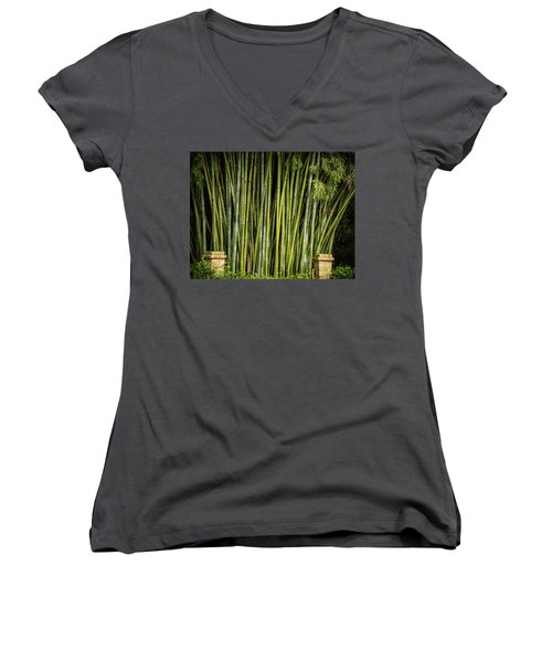 Bamboo Wall Women's V-Neck