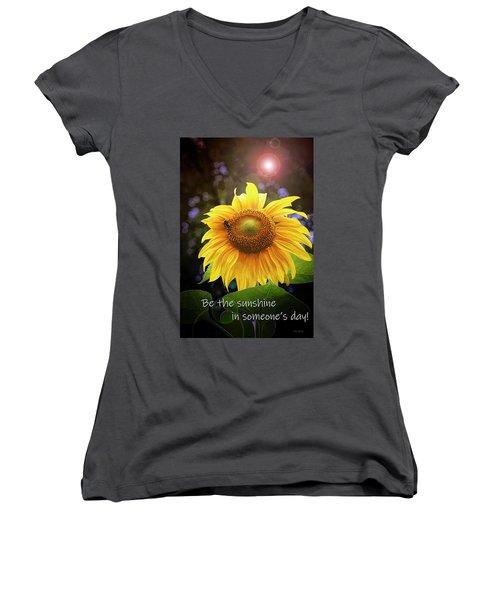Be The Sunshine  Women's V-Neck