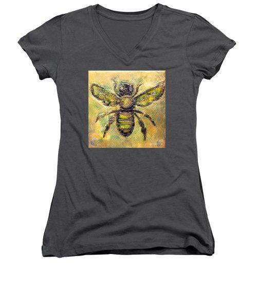 Bee Women's V-Neck