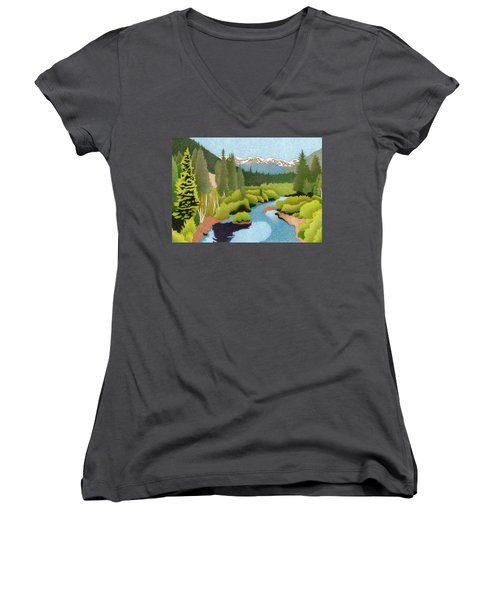 Berthoud Pass Women's V-Neck
