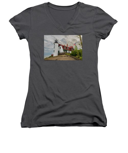Bestie Point Lighthouse  Women's V-Neck