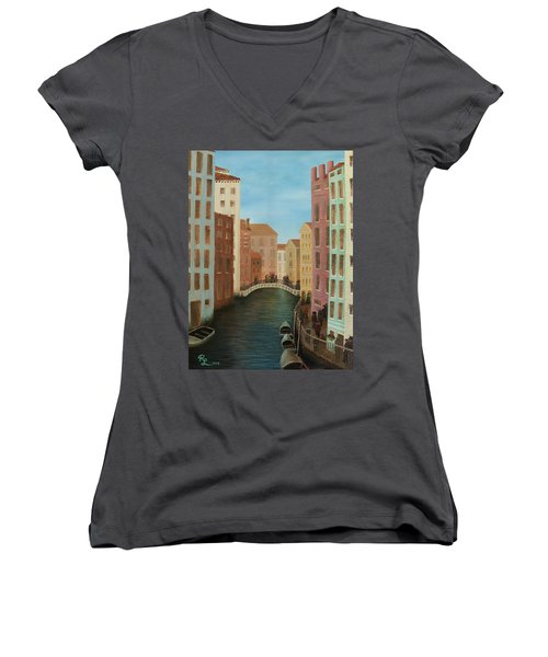 Beyond The Grand Canal Women's V-Neck