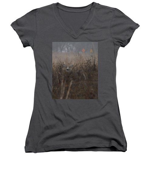Big Buck Women's V-Neck