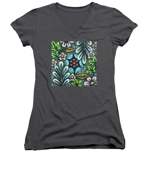 Blue Mood 2 Women's V-Neck