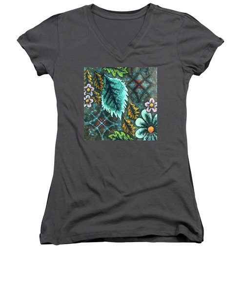 Blue Mood 3 Women's V-Neck