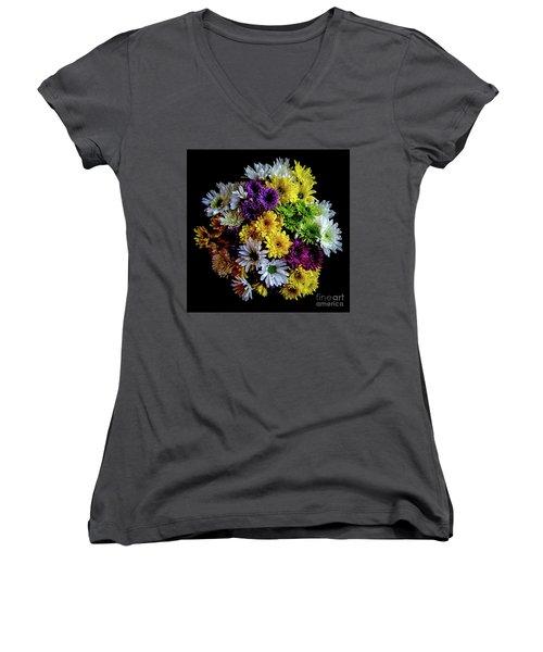 Bouquet Women's V-Neck