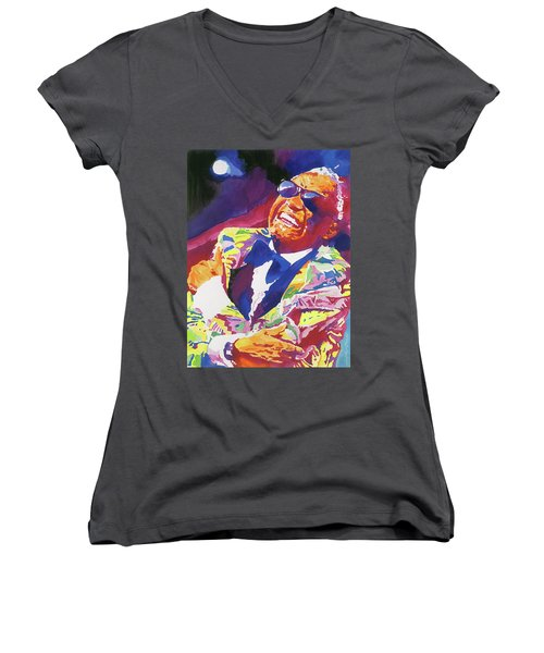 Brother Ray Charles Women's V-Neck