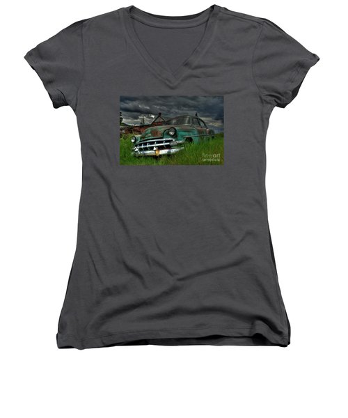 Chevy  Bel Air Women's V-Neck
