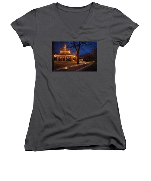 Christmas Eve In Dexter Women's V-Neck