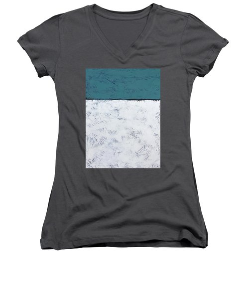 Clear And Bright Women's V-Neck