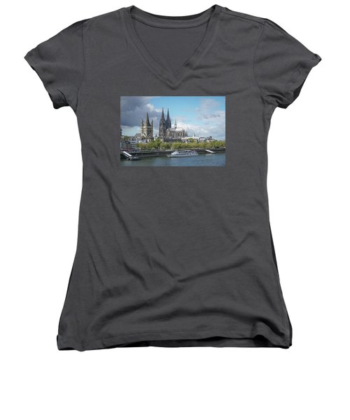 Cologne, Germany Women's V-Neck