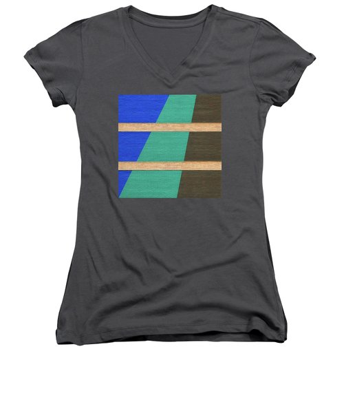 Colorado Abstract Women's V-Neck