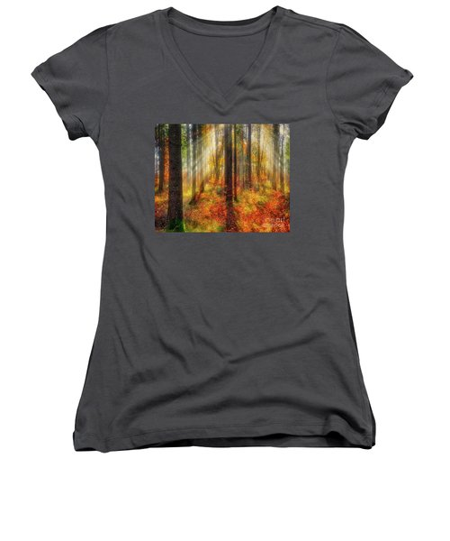 Colours Of Nature 02 Women's V-Neck