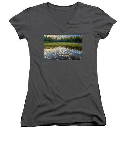 Colter Bay Reflections Women's V-Neck