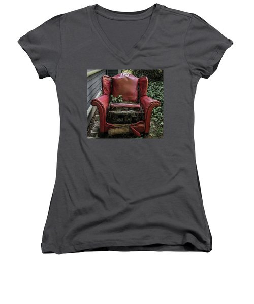 Comfy Chair Women's V-Neck