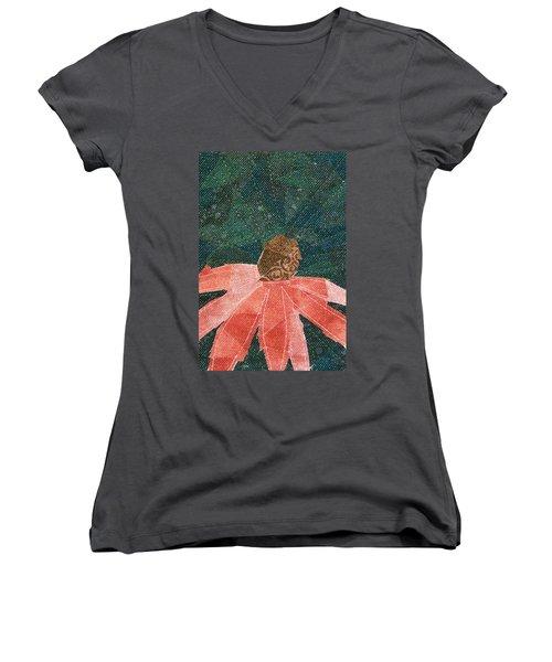 Cone Flower Women's V-Neck