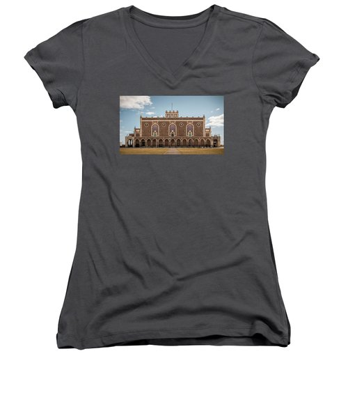 Convention Hall Women's V-Neck