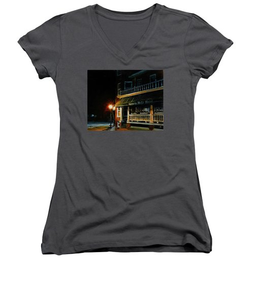 Corner Light Women's V-Neck