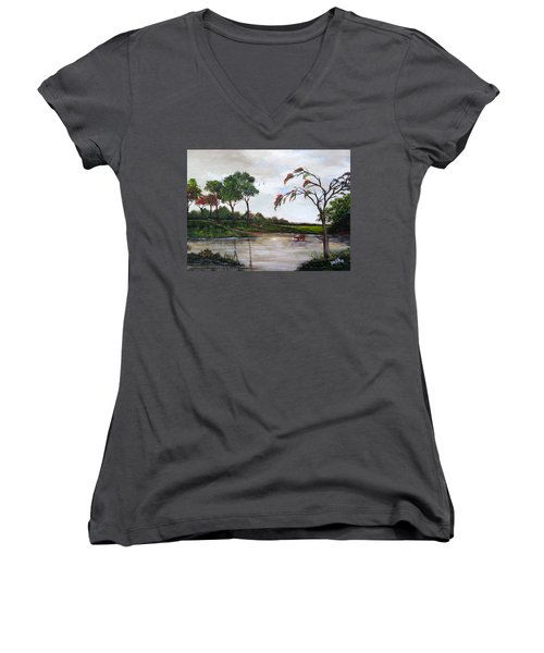 Cow Haven Women's V-Neck