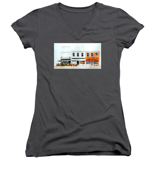 Cutrona's Market On King St. Women's V-Neck