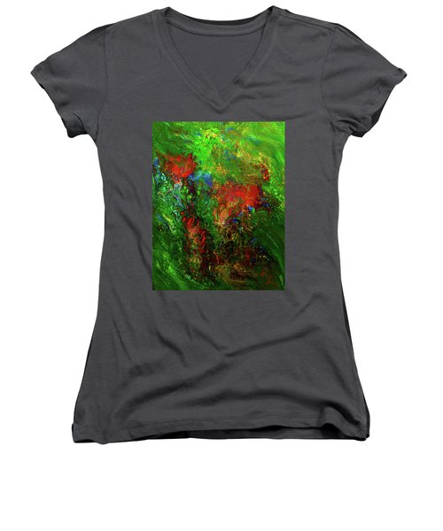 Dance Of The Dragon Women's V-Neck