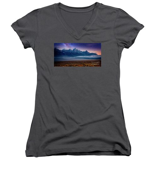 Dawn Breaks Women's V-Neck