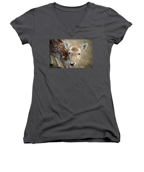 Deer Women's V-Neck