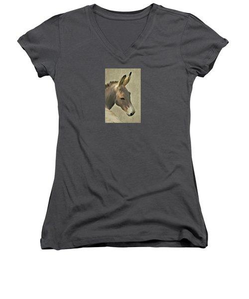 Donkey Women's V-Neck