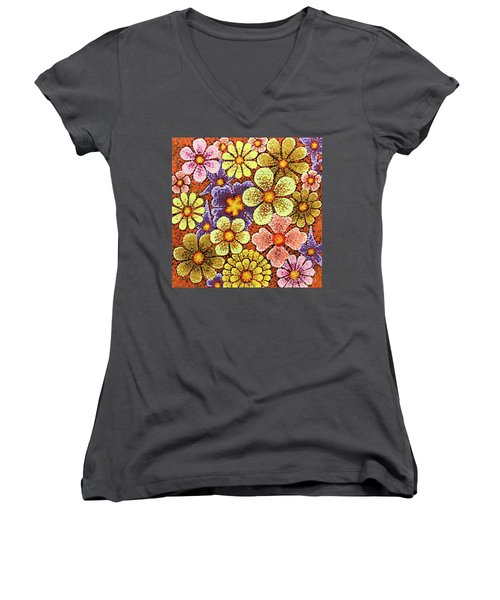Efflorescent 6 Women's V-Neck