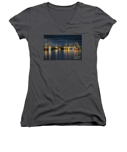 Evening Reflections Women's V-Neck
