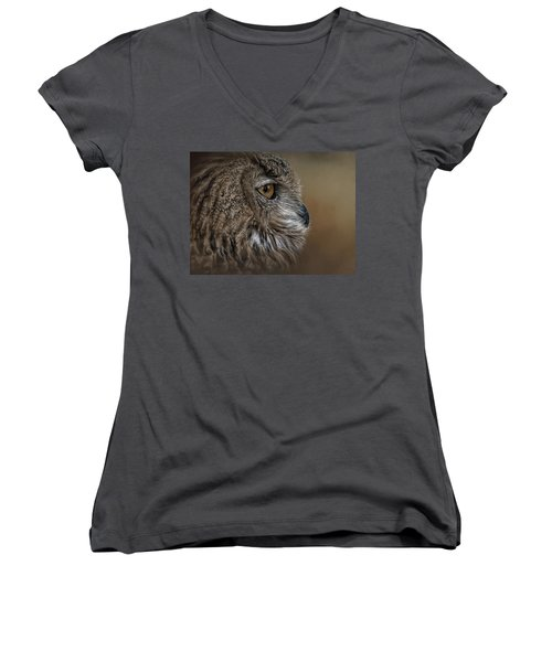 Eye Of Wisdom  Women's V-Neck
