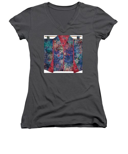 Falling  Floating Women's V-Neck