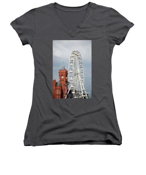 Ferris Wheel Women's V-Neck