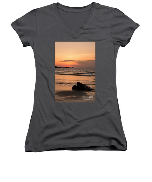 Fine Art Sunset Collection Women's V-Neck