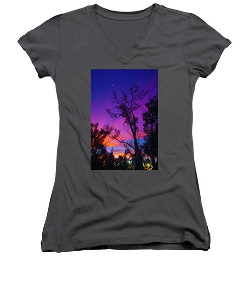 Forest Colors Women's V-Neck