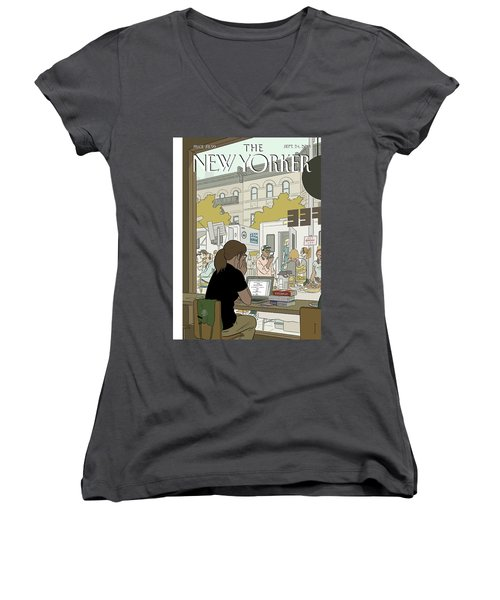 Fourth Wall Women's V-Neck