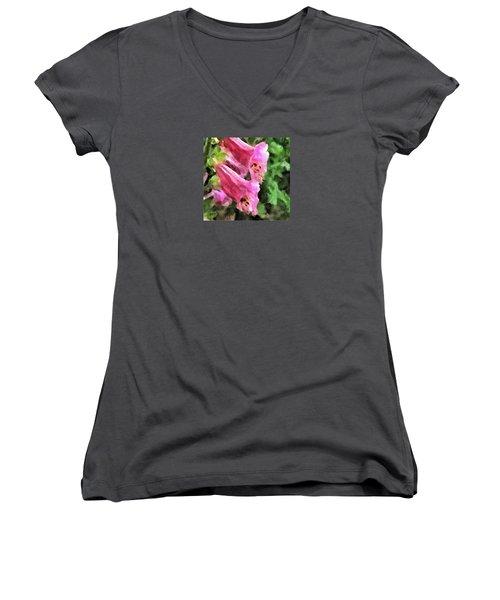 Foxglove Women's V-Neck