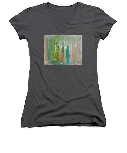 Friendship Angels Women's V-Neck
