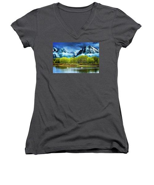 Grand Teton National Park Women's V-Neck