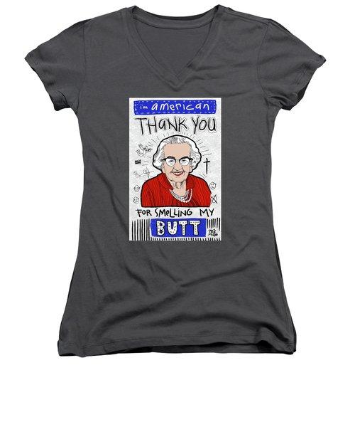 Gratitude Women's V-Neck