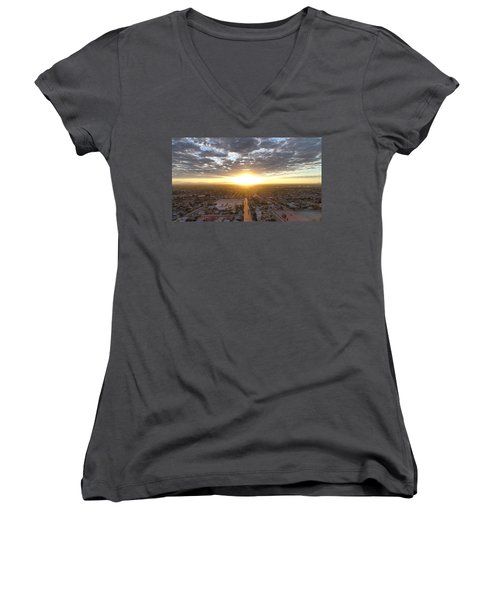 Guadalupe Sunset Women's V-Neck