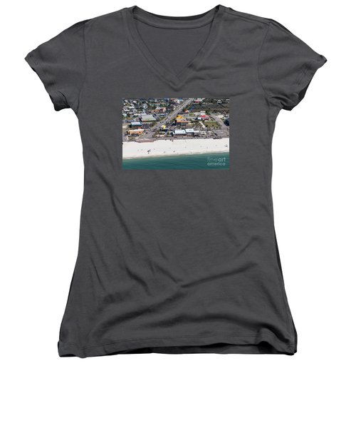 Gulf Shores Beach 7139 Women's V-Neck