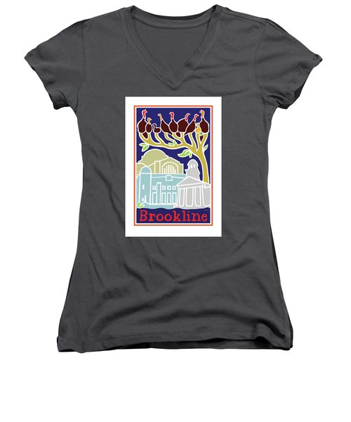 Happy Hanukkah Women's V-Neck