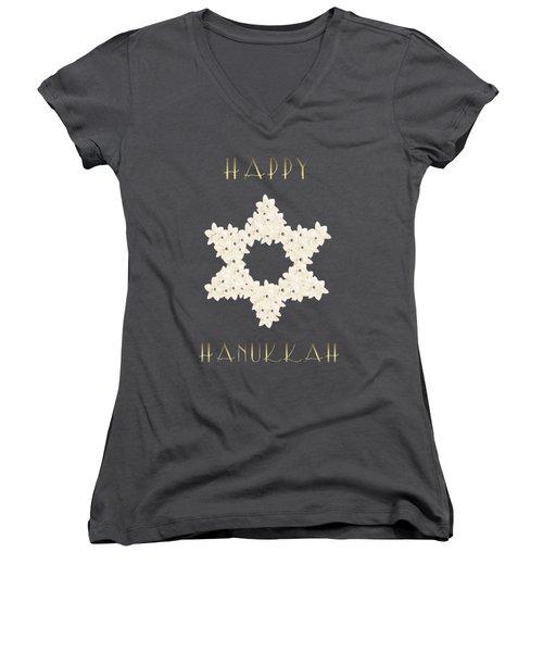 Happy Hanukkah  Women's V-Neck