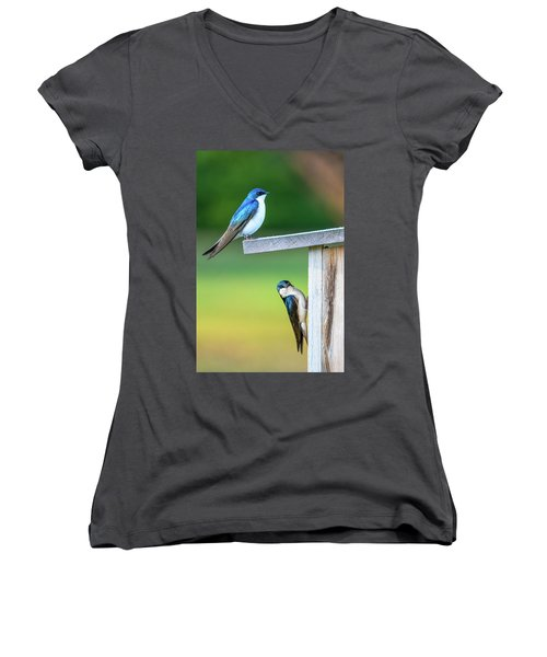 Happy Home Women's V-Neck