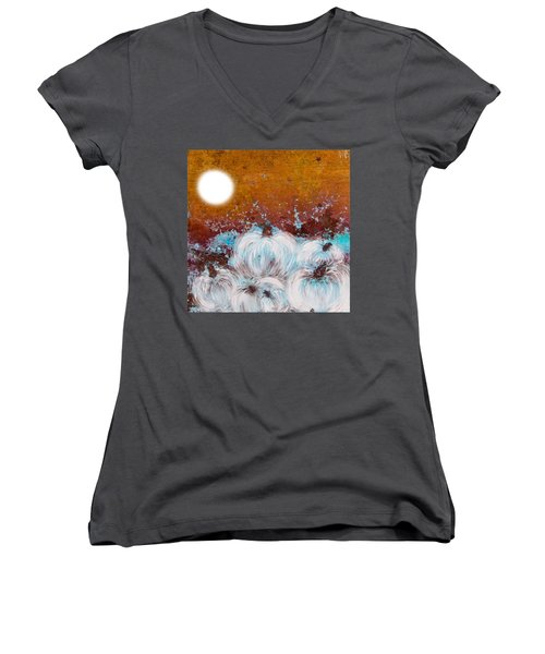 Harvest Pumpkin Women's V-Neck